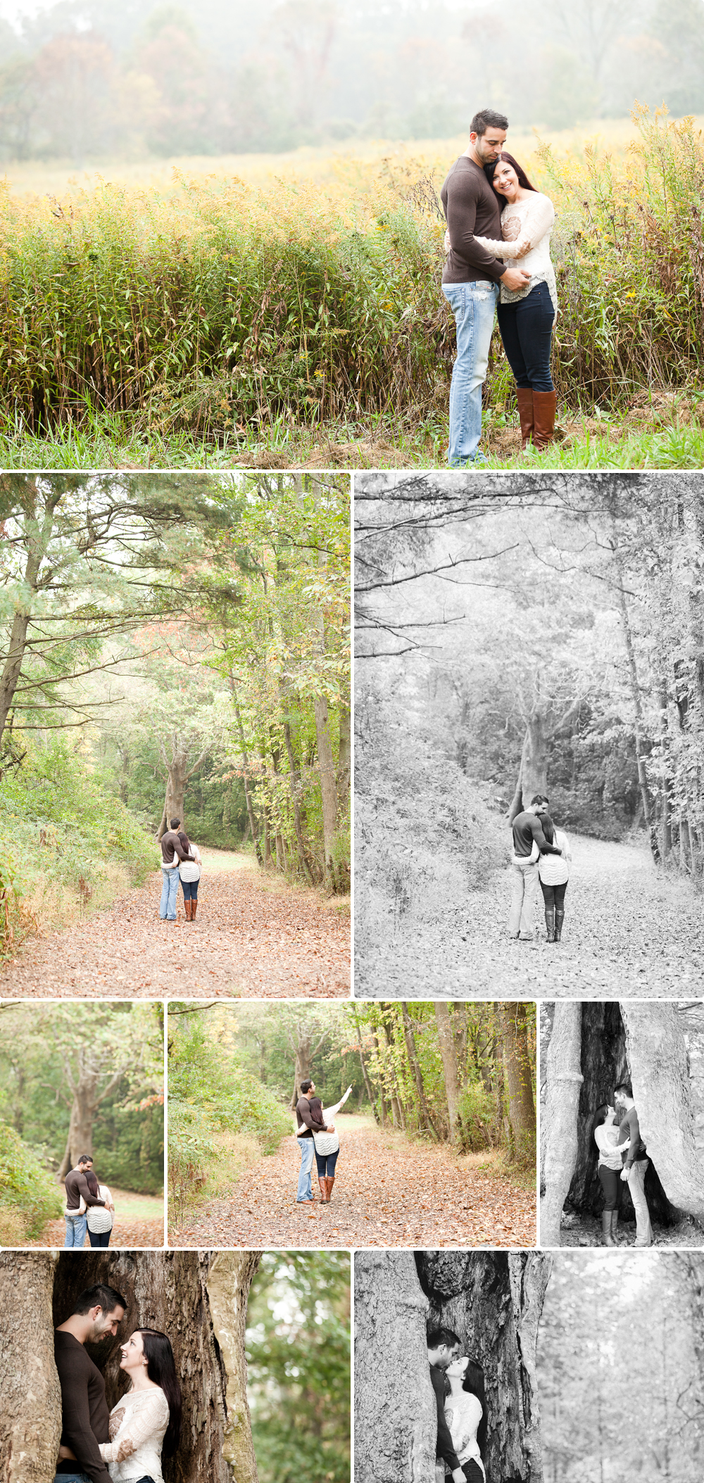 Laurita Winery Engagement Session